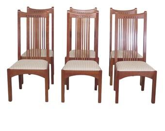 Pleasing Stickley Chair Etsy Machost Co Dining Chair Design Ideas Machostcouk
