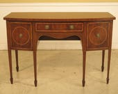43982EC KITTINGER D1923 Inlaid Federal Mahogany Sideboard