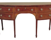 47608EC BAKER Historic Charleston Inlaid Mahogany Sideboard
