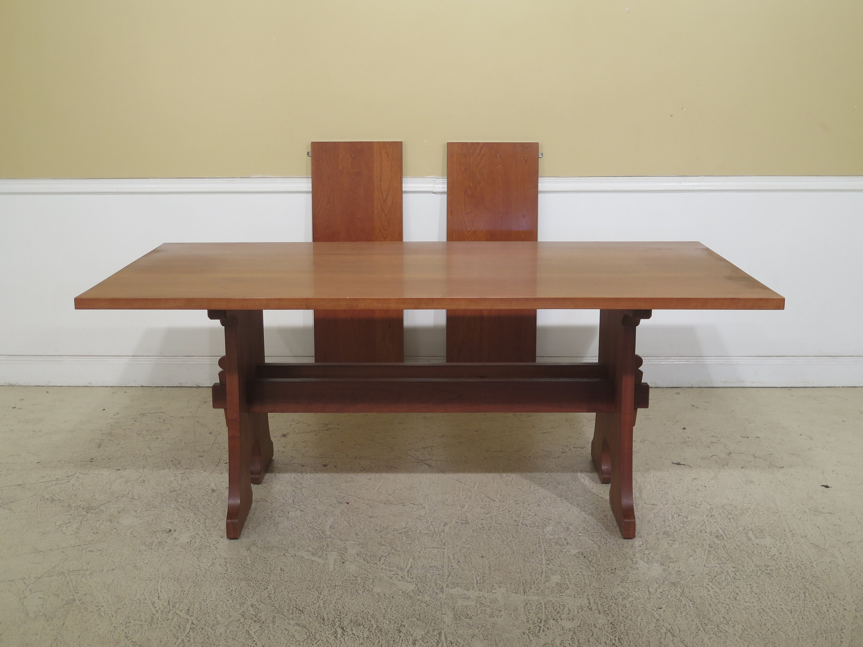 Wondrous F31010Ec Stickley Solid Cherry Mission Style Dining Room Table Lamtechconsult Wood Chair Design Ideas Lamtechconsultcom