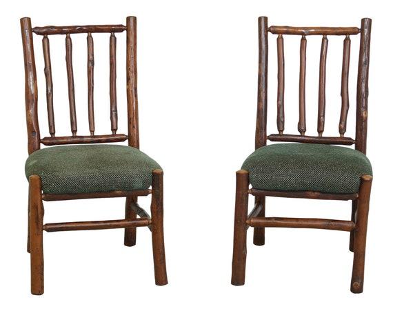Pair Flat Rock Furniture Rustic, Flat Rock Furniture
