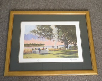 LF44570E: RAY ELLIS Signed and Numbered Matted Print
