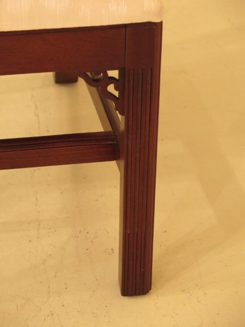 L45152EC Set Of 6 KNOB CREEK Chippendale Cherry Dining Room