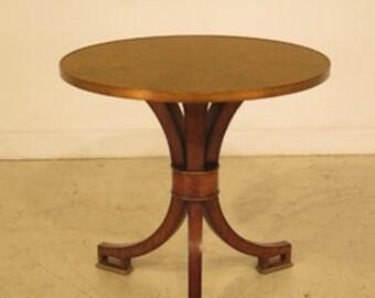 L28600E: MAITLAND SMITH Round Regency Center Table