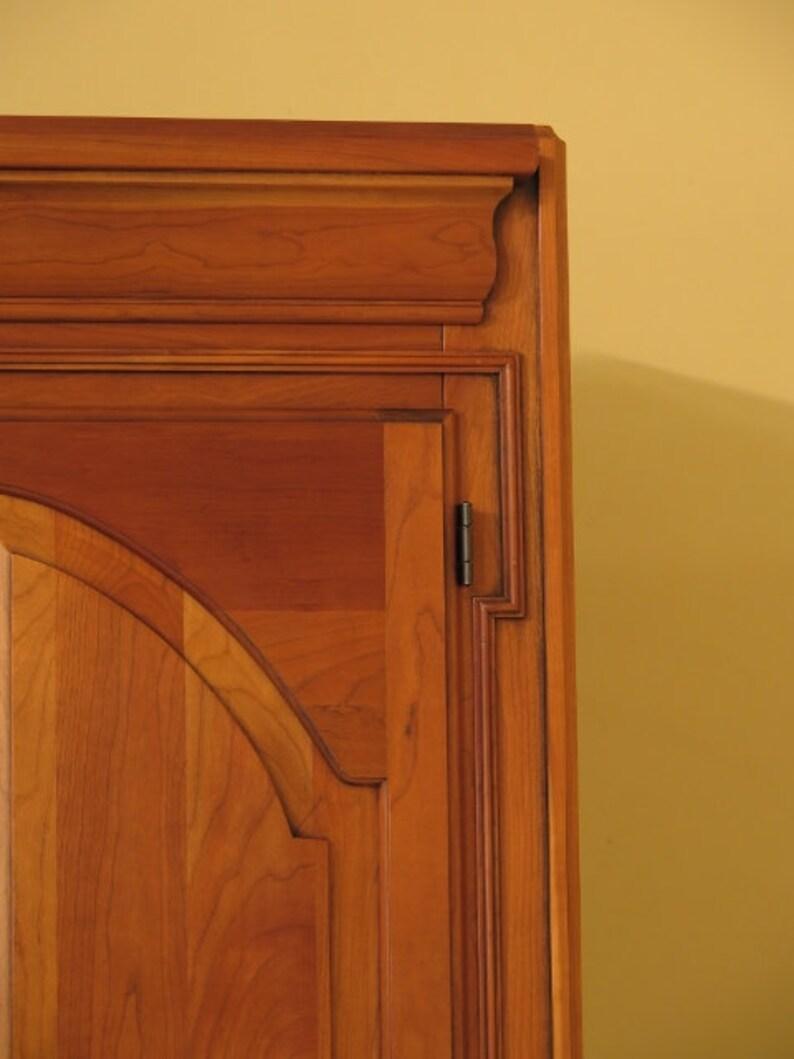 HARDEN Solid Cherry 2 Door Wardrobe Cabinet 38732EC