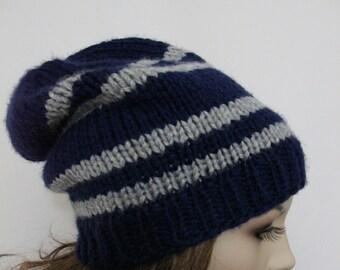 1648edb18 Hand knit beanie | Etsy