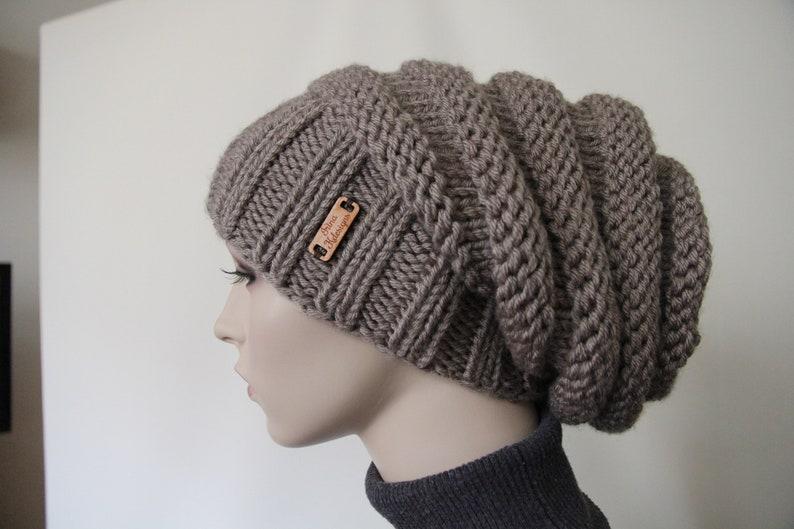 2a2413298d3 Knit Dreadlock Hand Knit Hat Warm Women s Hat Chunky Knit