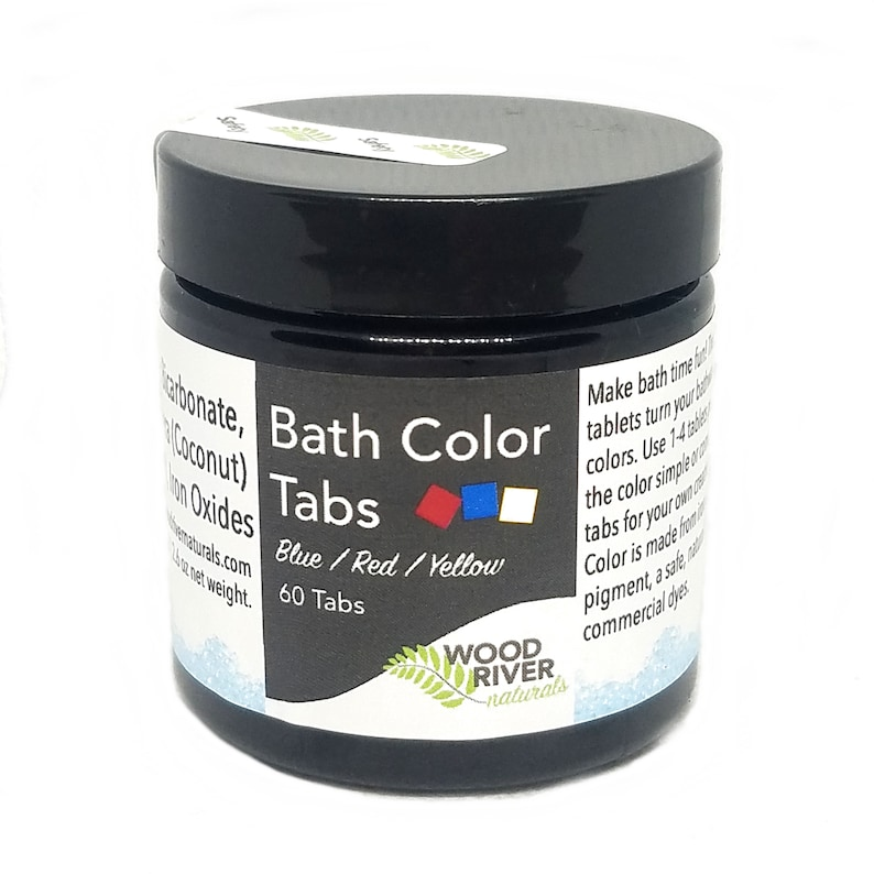Bath Color Tab  Natural Ingredients image 0