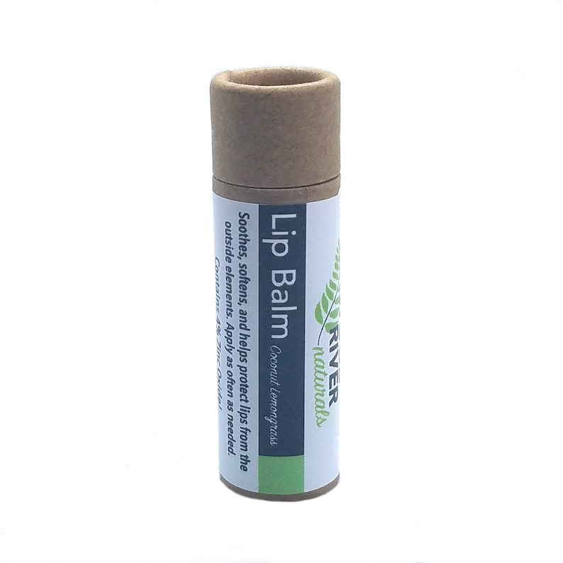 Lip Balm  All Natural With 4% Zinc Oxide 0.4 oz image 0