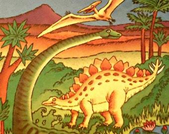 Dinosaur Land Personalized Children Book