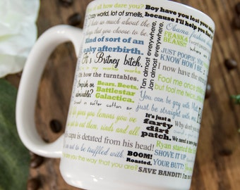 d7bf3cfb25c The Office Mug - The Office Funny Quotes Mug - The Office TV mug -  Microwave and Dishwasher Safe Mugs