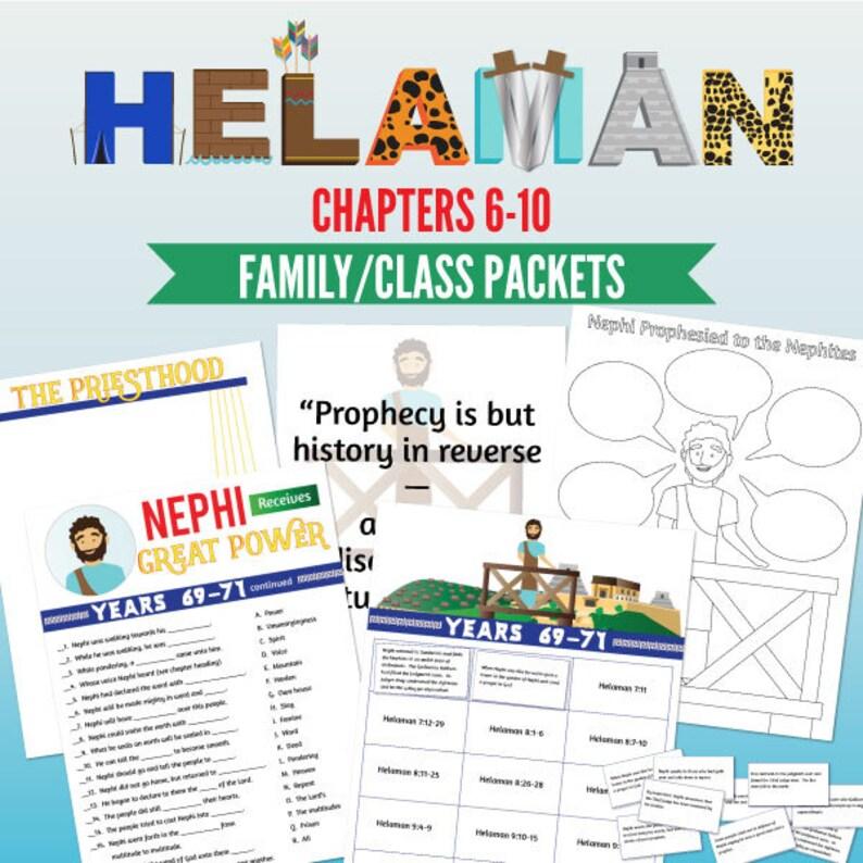 Book of Mormon Lessons: Helaman 6-10