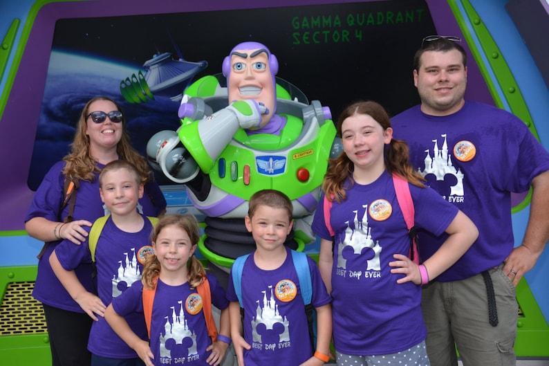 Best Day Ever Disney Shirt Family Disney Castle Magic image 0