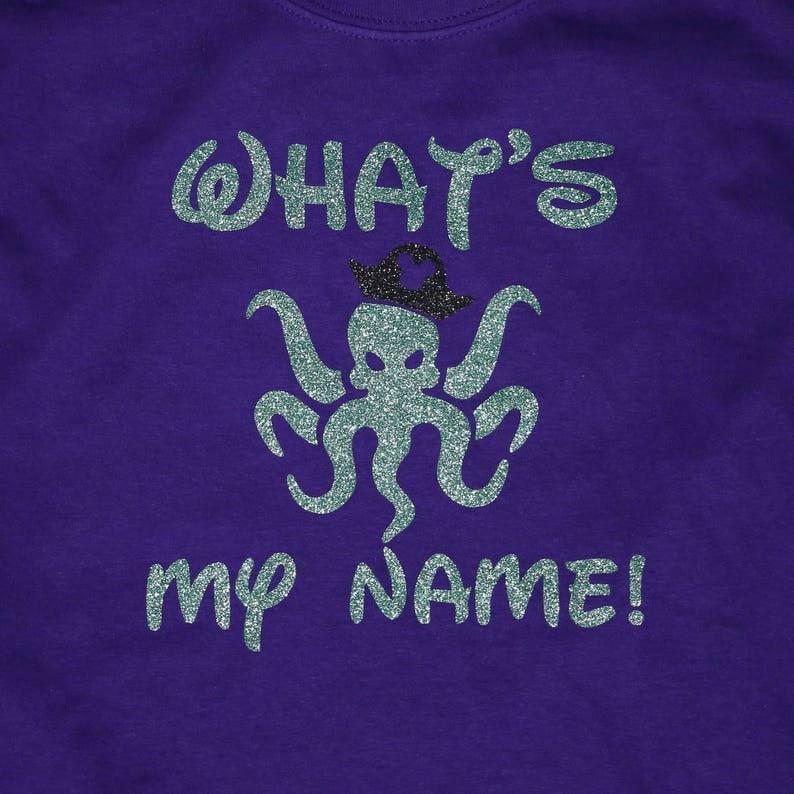Disney Descendants Shirt  Whats my name   Uma inspired image 0