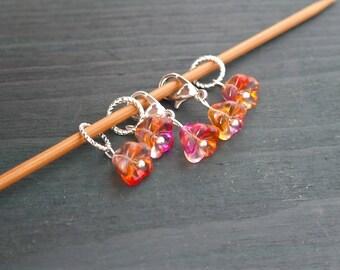 Handmade Knitting Stitch markers / Progress keepers