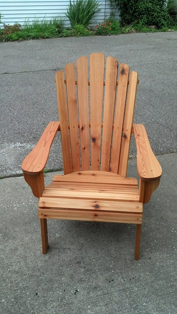 Amazing Cedar Adirondack Fanback Chair Adirondack Furniture Outdoor Chairs Cabin Chairs Cedar Furniture Cedar Chair Deck Furniture Pabps2019 Chair Design Images Pabps2019Com