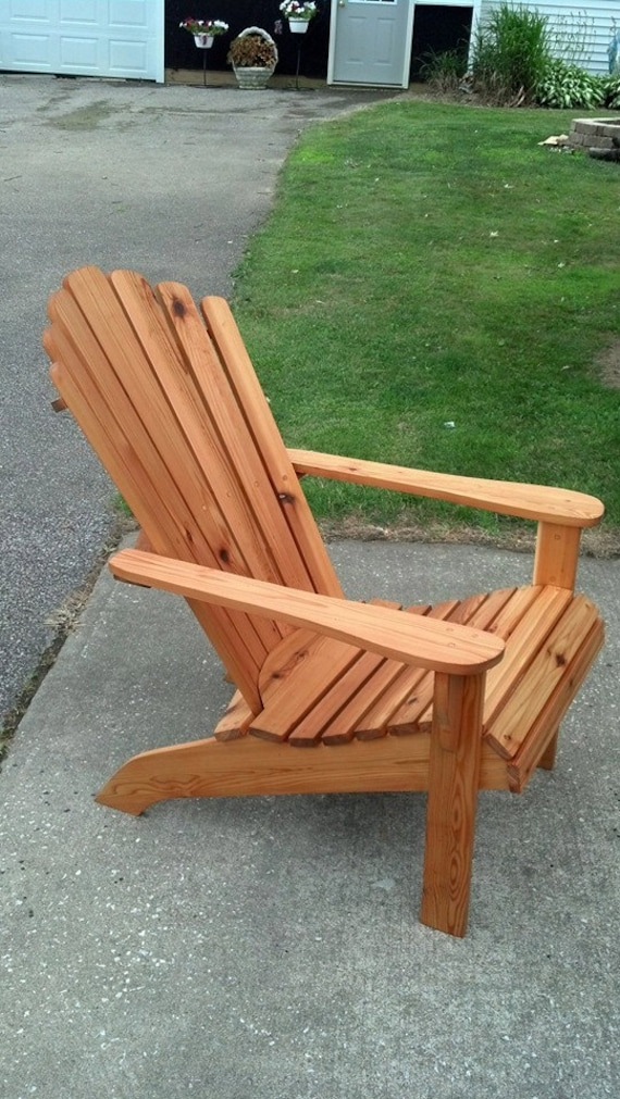 Awesome Cedar Adirondack Fanback Chair Adirondack Furniture Outdoor Chairs Cabin Chairs Cedar Furniture Cedar Chair Deck Furniture Pabps2019 Chair Design Images Pabps2019Com