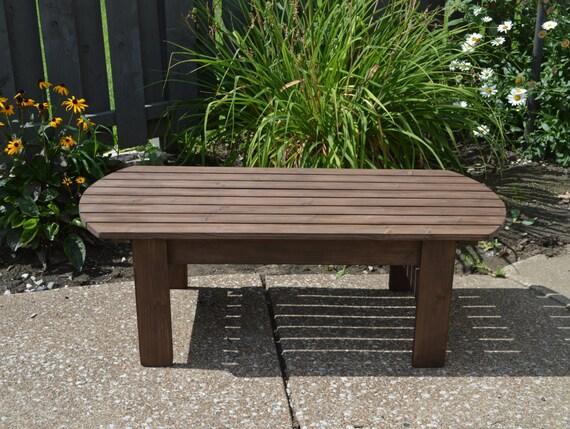 Pino tavolino di adirondack patio tavolo tavolo in legno etsy