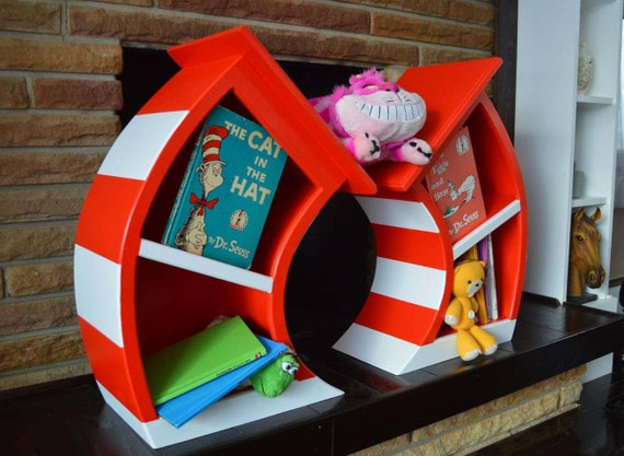 Whimsical Bookcase for Kids