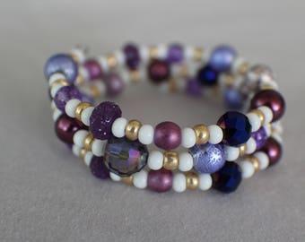 Maria- Coil Bracelet