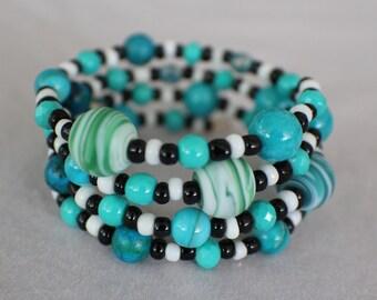 Neptune II- Coil Bracelet