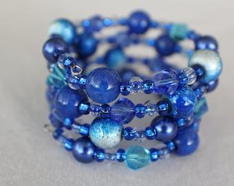 Water- Coil Bracelet