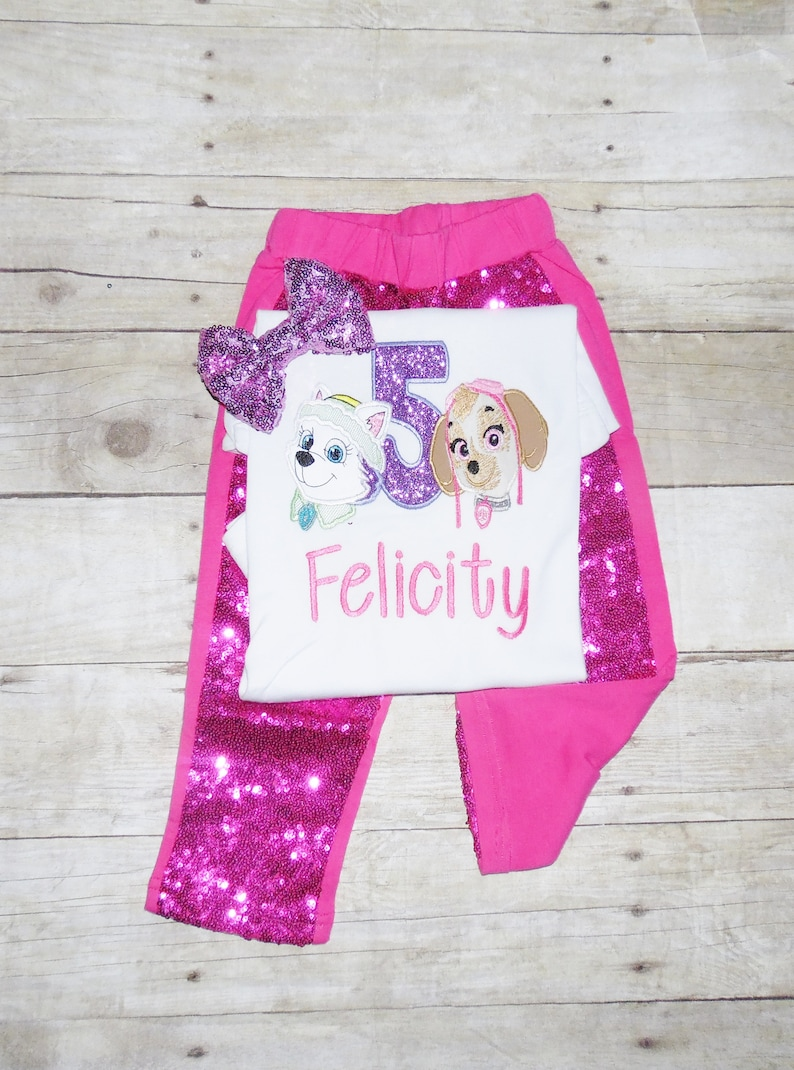 Skye and Everest birthday outfit Paw Patrol birthday outfit Skye tutu,character Paw patrol birthday outfit Pup birthday shirt skye shirt