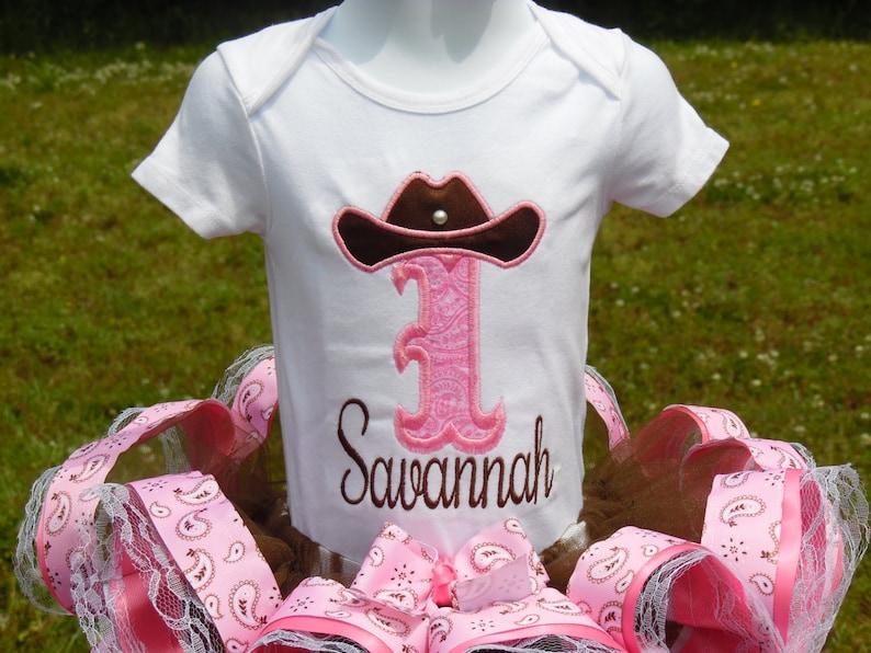farm ribbon trim tutu. cowgirl tutu western tutu Cowgirl ribbon trim tutu set pageant tutu dress Cowgirl birthday outfit