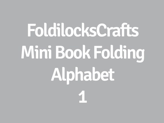 Mini Alphabet Pattern Make Longer Words Names Or Dates Pdf Etsy