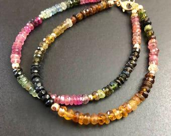 Double Strand Tourmaline Bracelet