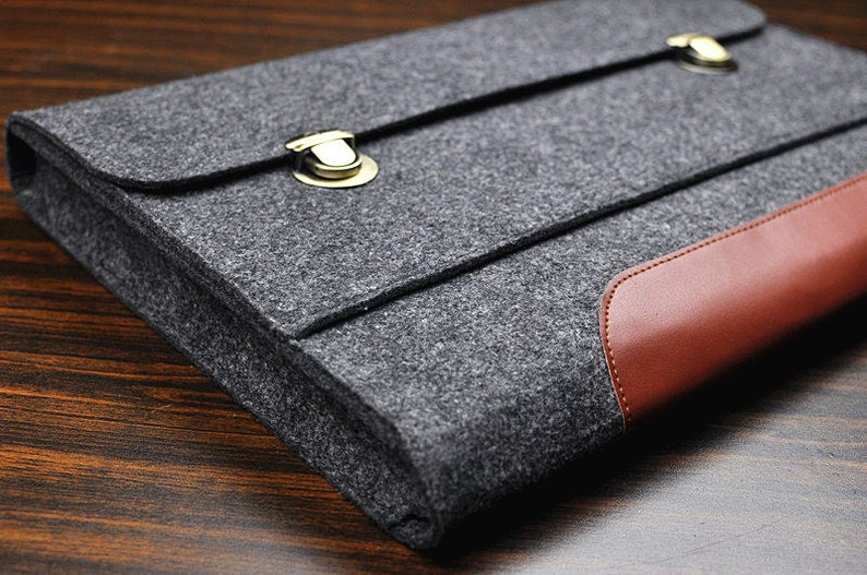 Felt laptop sleeve for ASUS /Macbook Felt