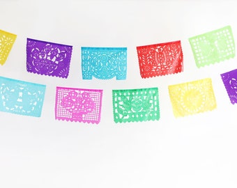 Wedding Mini Papel Picado Banner Valentines Day Mi Boda Rings Proposal Anniversary Love Dove Party Supply Mexican Fiesta Outdoor Banner