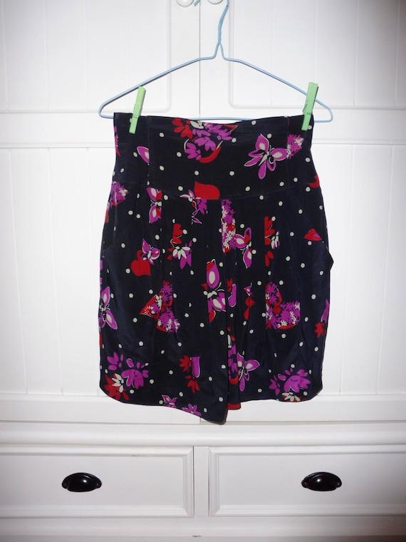 Silk ESCADA skirt size 34 FR - 1990s - image 5