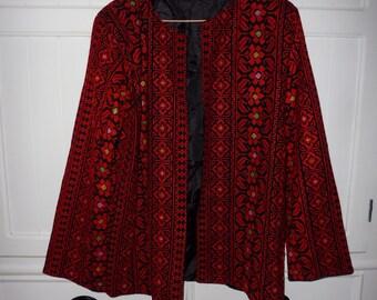 Vintage jacket size 44 FR (XXL) 1980s