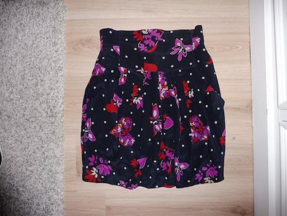 Silk ESCADA skirt size 34 FR - 1990s - image 1