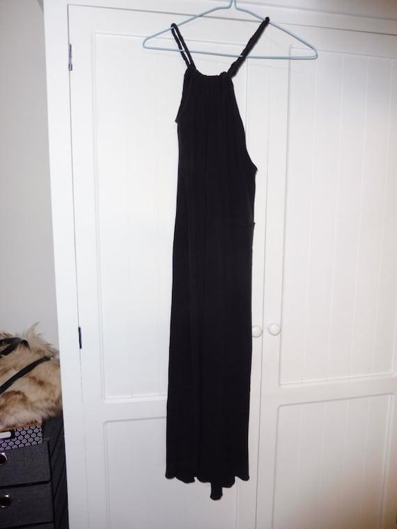 ALBERTA FERRETTI size 38 silk dress - 1990s