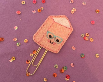 Geeky Book Planner Paperclip    Planner Accessory   Kikki K   Happy Planner   Filofax   Websters Pages   Planner Supplies