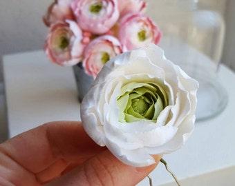 Wedding Hair Flower Etsy