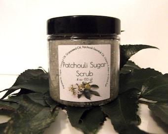 Patchouli Sugar Scrub
