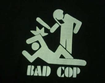 Kids Bad Cop Screen Print T-shirt in Kids S-L