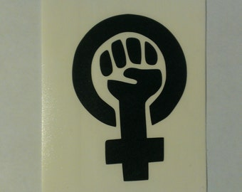 Feminist Symbol Vinyl Decal