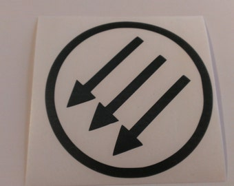 Antifa Arrows Vinyl Decal