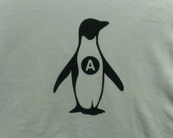 Anarchy Penguin Canvas Tote Bag