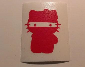 Halal Kitty Vinyl Decal