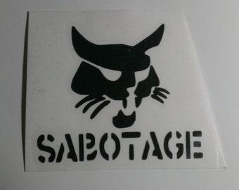 Wildcat Sabotage Vinyl Decal