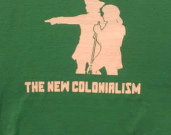 Kids Gentrification the New Colonialism Screen Print T-shirt in Kids S-L