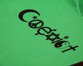 Kids Coexist Screen Print T-shirt in Kids S-L