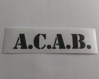 ACAB Vinyl Decal
