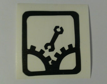 Monkey Wrench Sabotage Vinyl Decal
