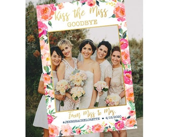 Bridal Shower Photo Booth Frame Etsy